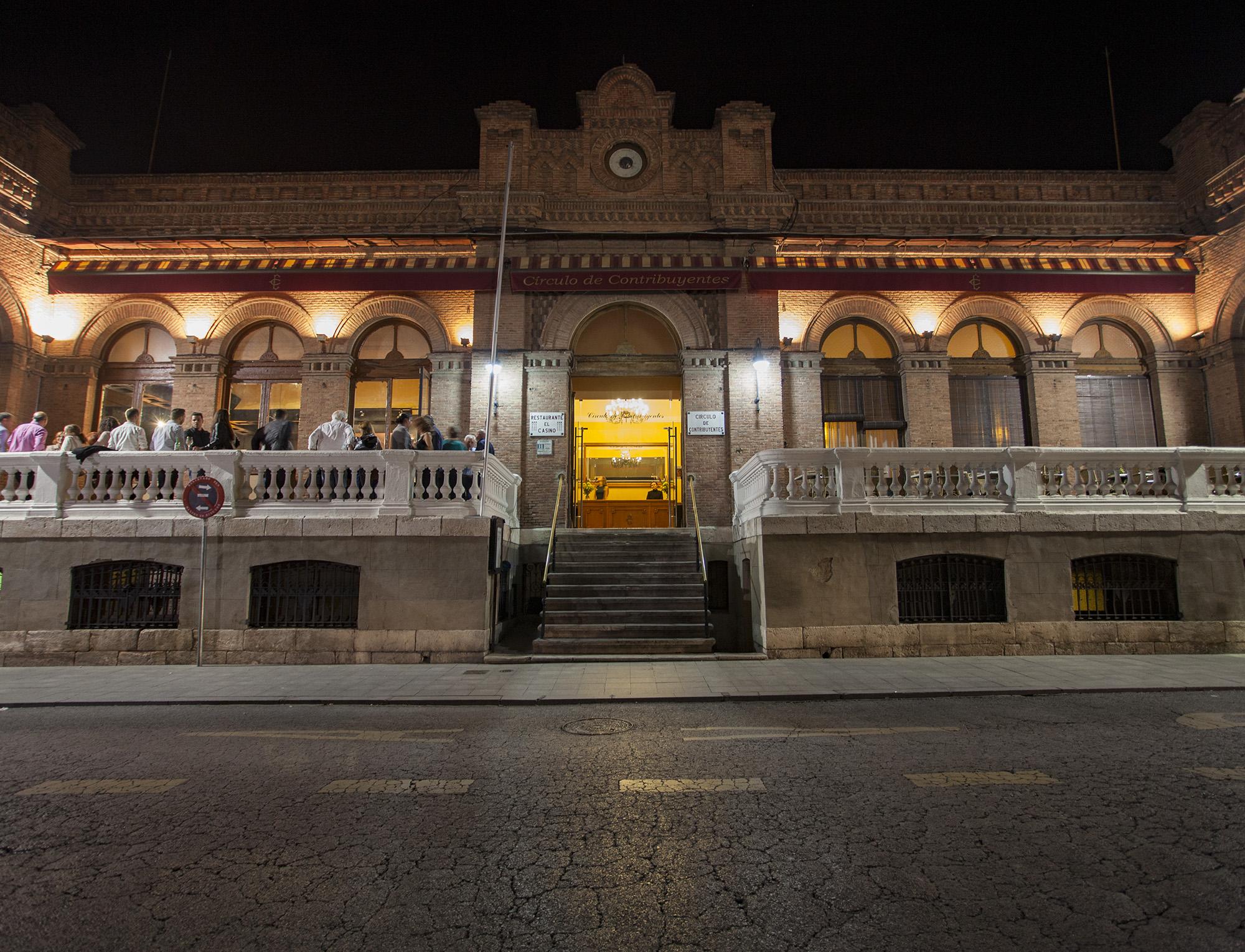 Fachada restaurante Casino Alcalá