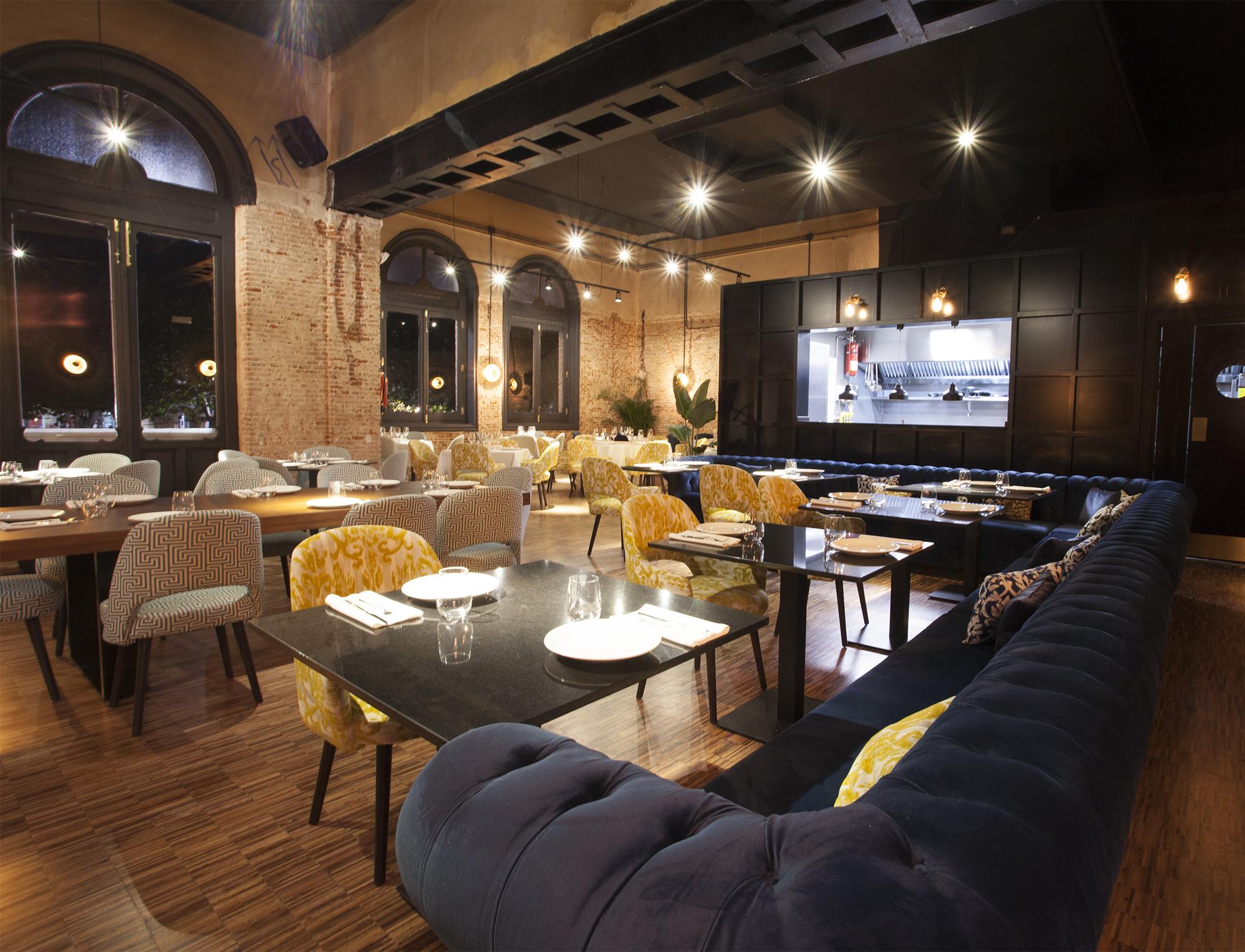 Sala grande del restaurante Casino Alcalá