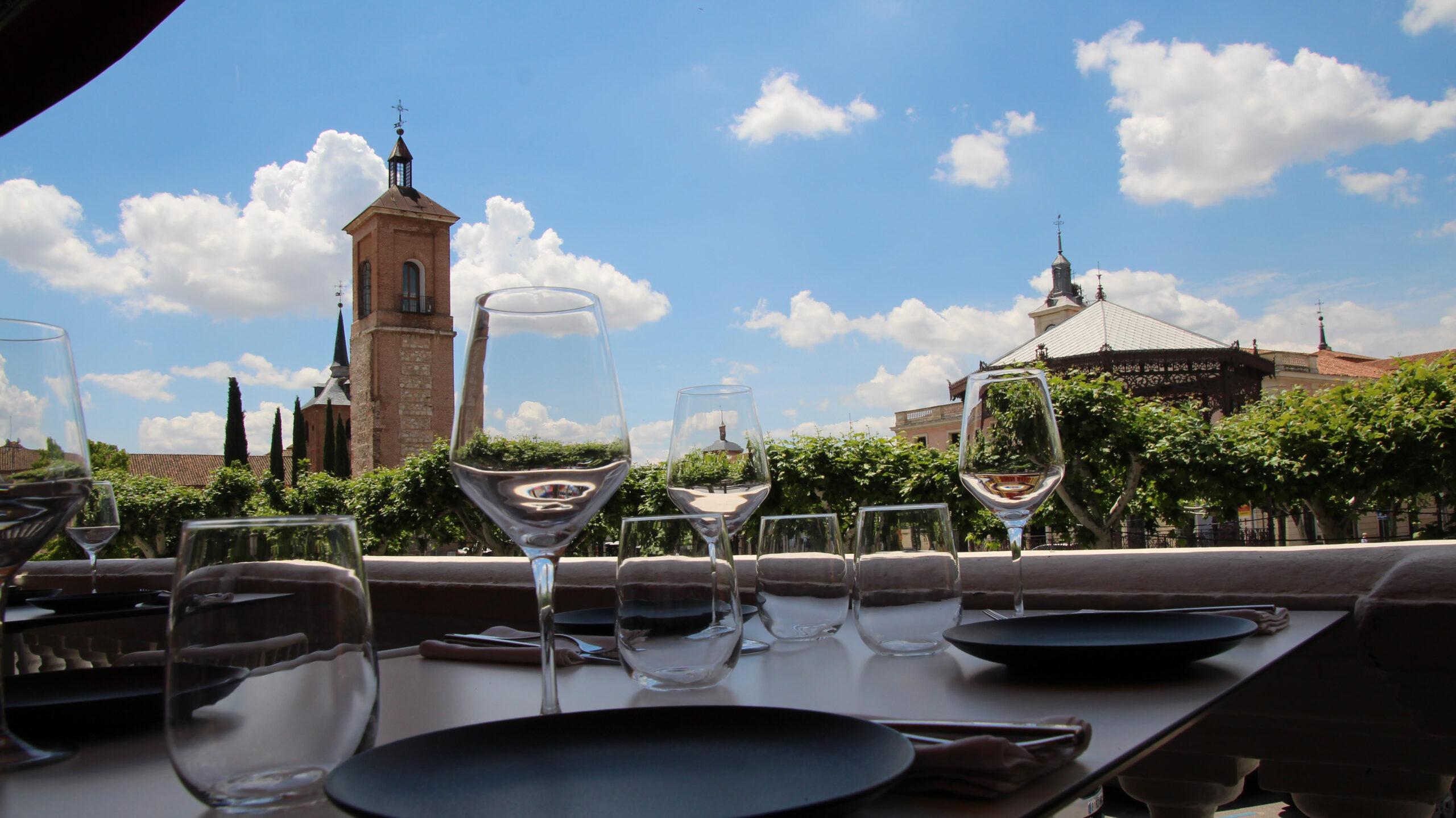 restaurante con terraza alcala