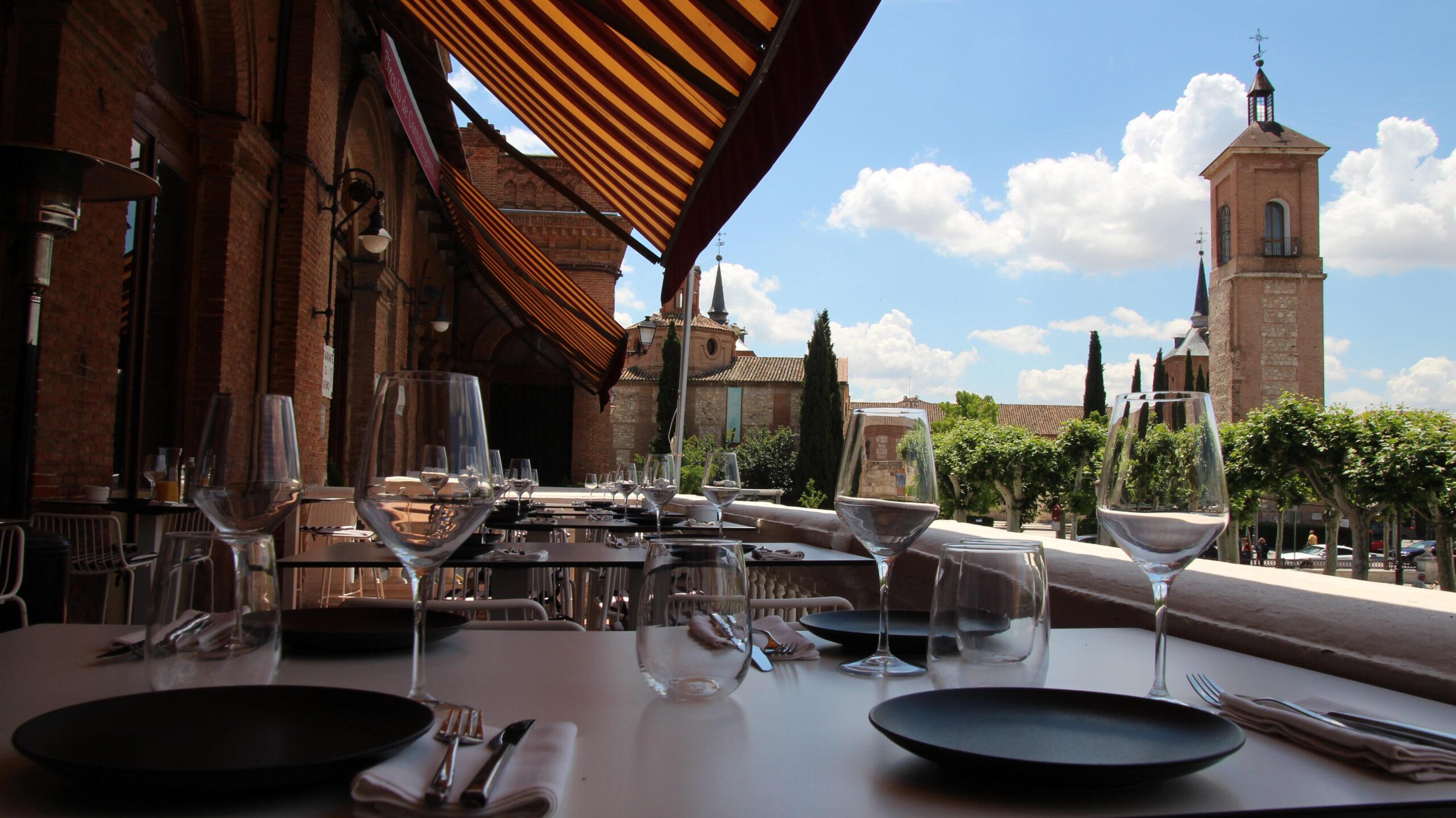 restaurante terraza alcala de henares